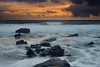 Sunset and Surf - Hawaiian Islands - Darren Stratemeier - February 2011