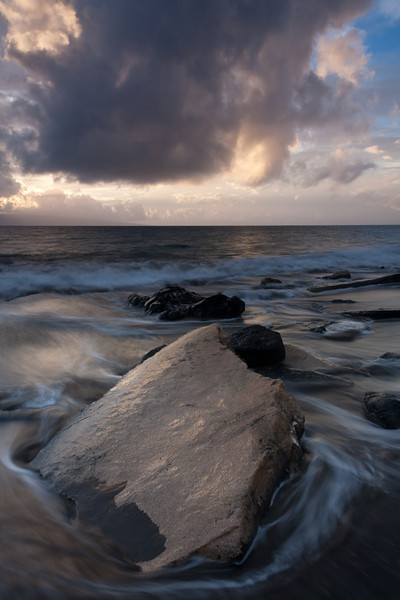 Stormy Skies at Wahikuli Wayside Park - Hawaii (Lahaina, Maui) - D'An Holmes Glueckert - February 2011
