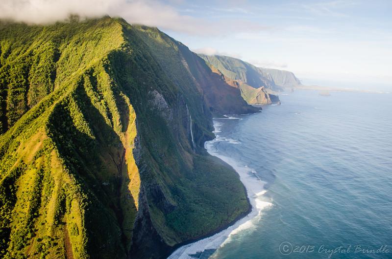 Towering Sea Cliffs