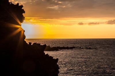 Hawaiian Sunsets and Landscapes