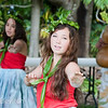 Ulalia School of Hawaiian Dance with Kumu Ulalia Ka'ai Berman opened the festival.