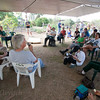 David Orr of Waimea Valley speaks at the Botanical Gardens Round Table.