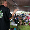 Ian Cole of the Breadfruit Institute spoke about 'ulu tree care and maintenance for a full crowd.