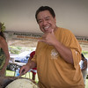 Celebrity Chef Sam Choy held a very informative and entertaining 2 hour demonstration.