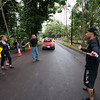 The Men of Pa'a volunteered to provide security and traffic control throughout the day.