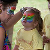 Face painting was appreciated by many keiki.