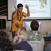 "Kumu Ryan McCormack of Kua O Ka La spoke about ""'Ulu: A Hawaiian perspective""."