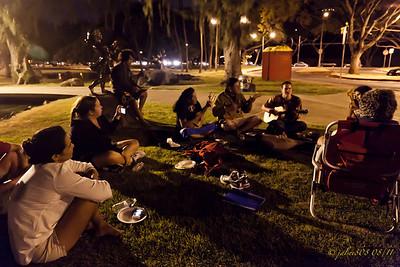 Faafaite Crew at Kapiolani Park - 08/28/11