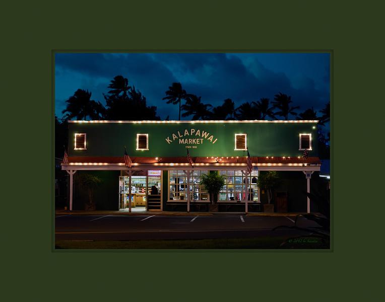 Kalapawai Market at Evening Twilight