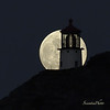 Makapuu Lighthouse Moonrise #5<br /> (8x8 Maximum Size)
