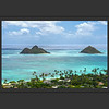 The Mokulua Islands from Lanikai Ridge #1