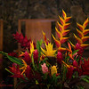 Flowers at Queen Liliokalani Church in Haleiwa