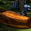Koa Wood Outrigger Canoe