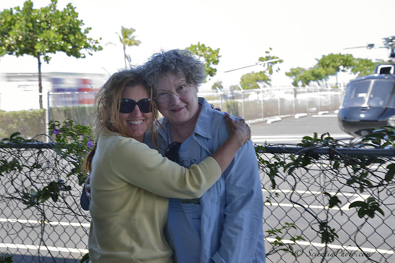 Sheree & Nancy ... Happy to be on the Ground