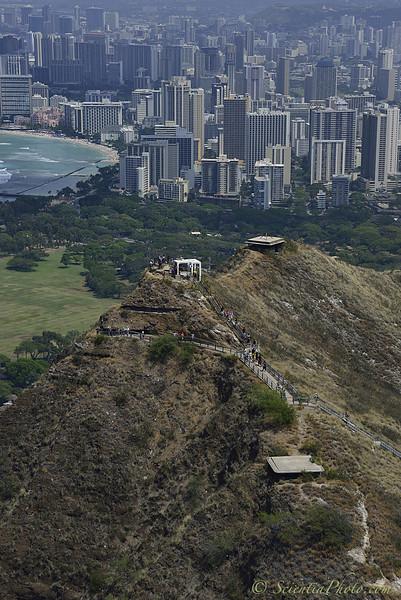 Diamond Head Pillboxes & Waikiki