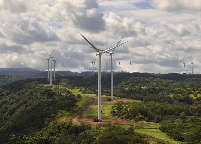 Kawailoa Wind Farm at Waimea