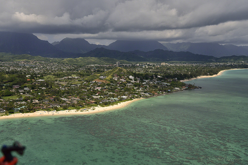 Lanikai Beach, Kailua, & the Pali