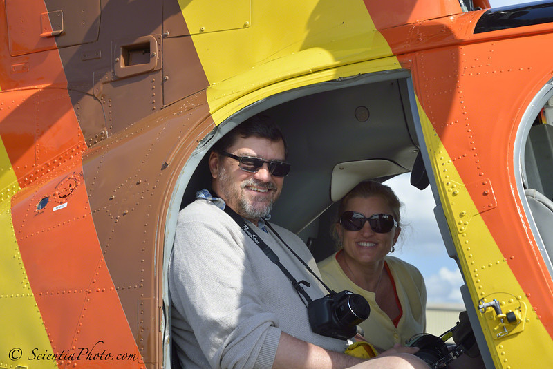 Steve & Sheree Prior to Take Off