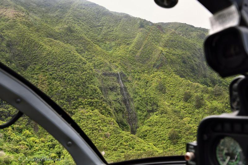 Waterfall in Nuuanu Valley