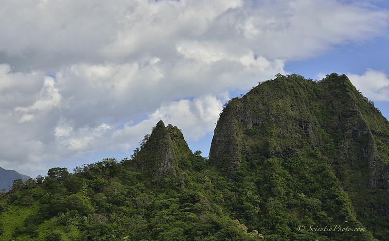 Narrow Ridge Bordering Kualoa Valley