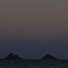 Full Moon over the Mokulua Islands  - 2010
