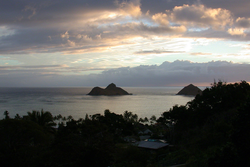 Mokulua Islands from Lanikai  (2003)
