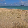Our Footprints on Kailua Beach (2009)