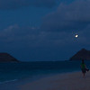 Moonrise Over the Mokuluas from Lanikai (2009)