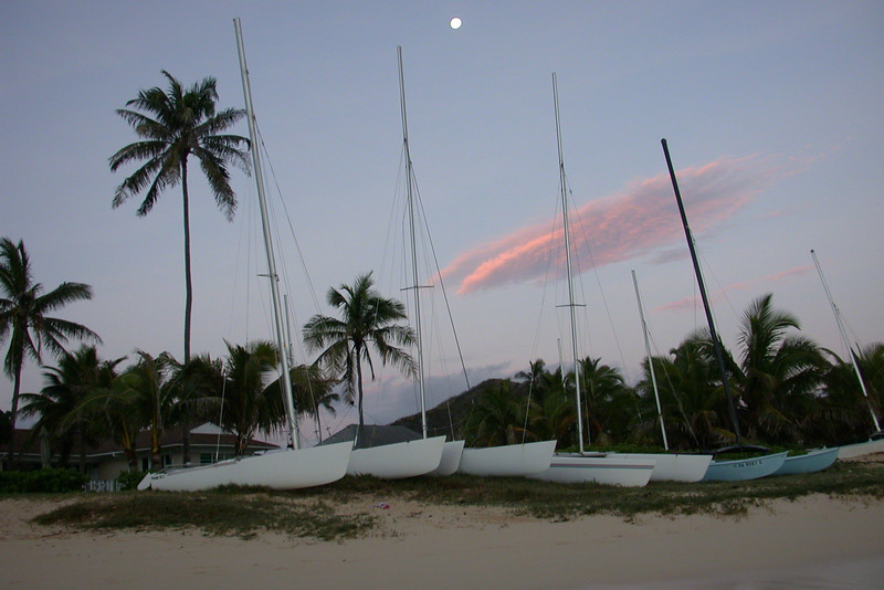 Lanikai Beach in Early Morning (2003