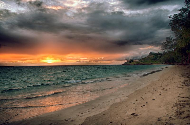 Sunrise at Kailua Beach (2009)