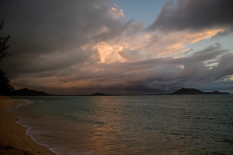 Mokapu from Kailua Beach at Sunrise ((2008)