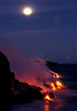 ~ Winter Solstice Full Moon Lava  #1 ~<br /> <br /> Southeast shores of the Island of Hawaii