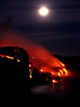 ~ Winter Solstice Full Moon Lava  #2 ~<br /> <br /> Southeast shores of the Island of Hawaii