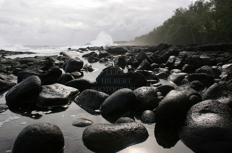 ~ Malamaki Stonepeople ~<br /> <br /> Malamaki beach, Island of Hawaii<br /> <br /> (Order form #50)