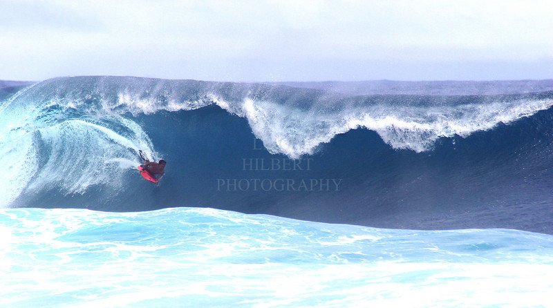 ~ Bodyboarder Charging ~ Island of Hawaii<br /> <br /> (Order Form #23)