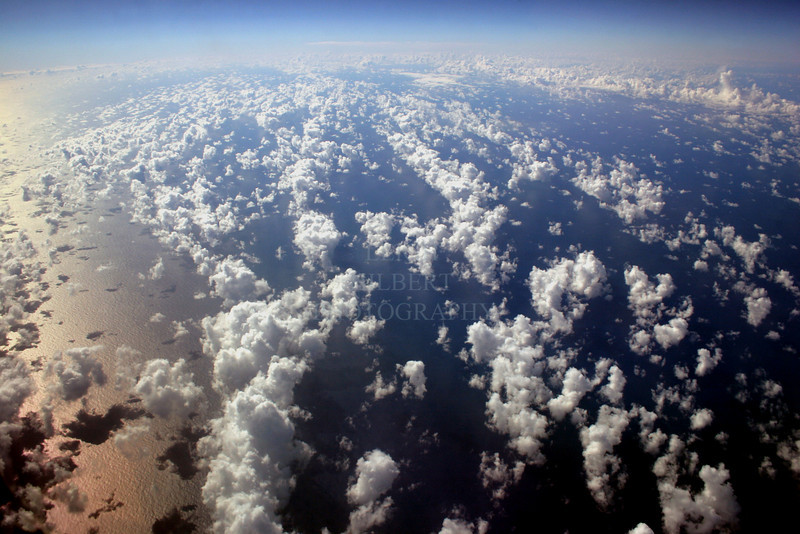 ~ The World From Forty-thousand Feet Above ~<br /> <br /> Photo taken over the mid-pacific ocean.