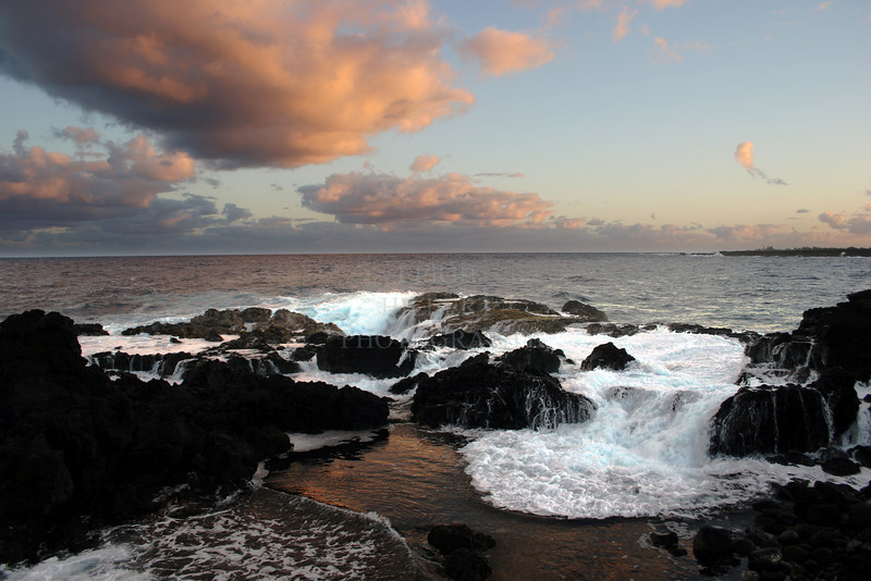 Cape Kumukahi on the island of Hawaii