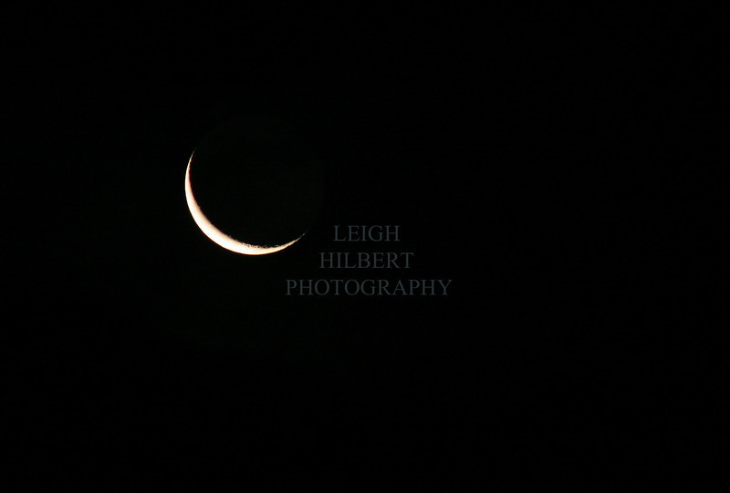 Crescent Moon In June<br /> <br /> Printing suggestions: To retain full-frame prints select NO-crop option during purchase.