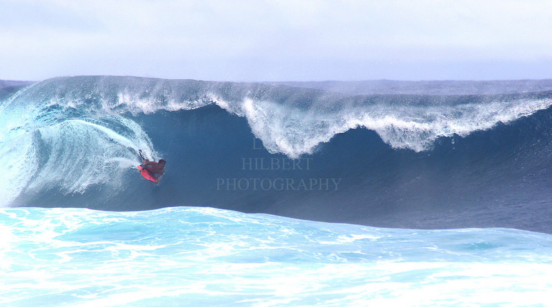 Coming out of the barrel #2<br /> <br /> Body board surfing on the Island of Hawaii