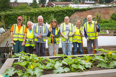 17 ILF Photo July Walled Garden Volunteers 0002