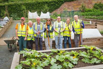 17 ILF Photo July Walled Garden Volunteers 0003