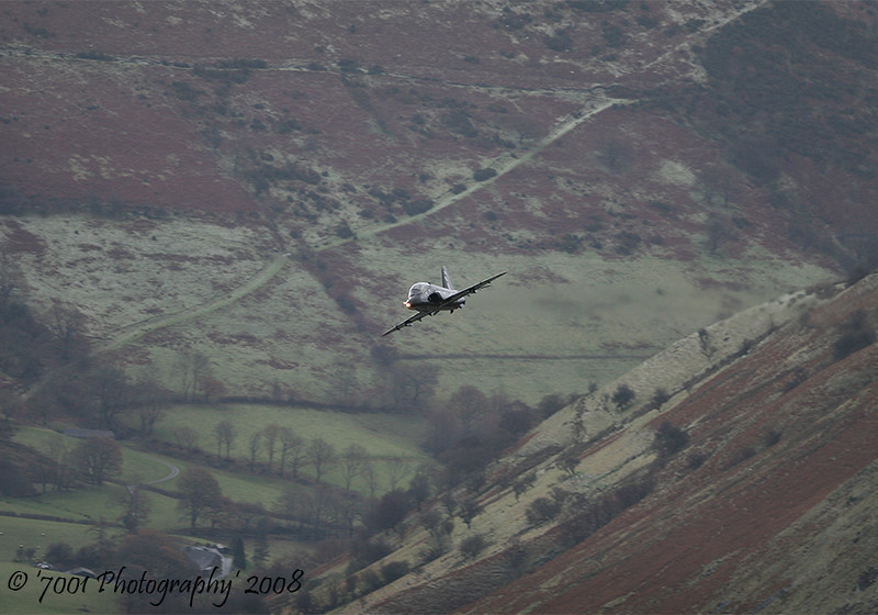 XX265/'265' (19(R) SQN marks) Hawk T.1 - 2nd December 2008.