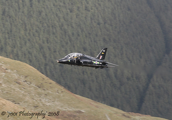 XX156/'156' (208(R) SQN marks) Hawk T.1 - 2nd December 2008.
