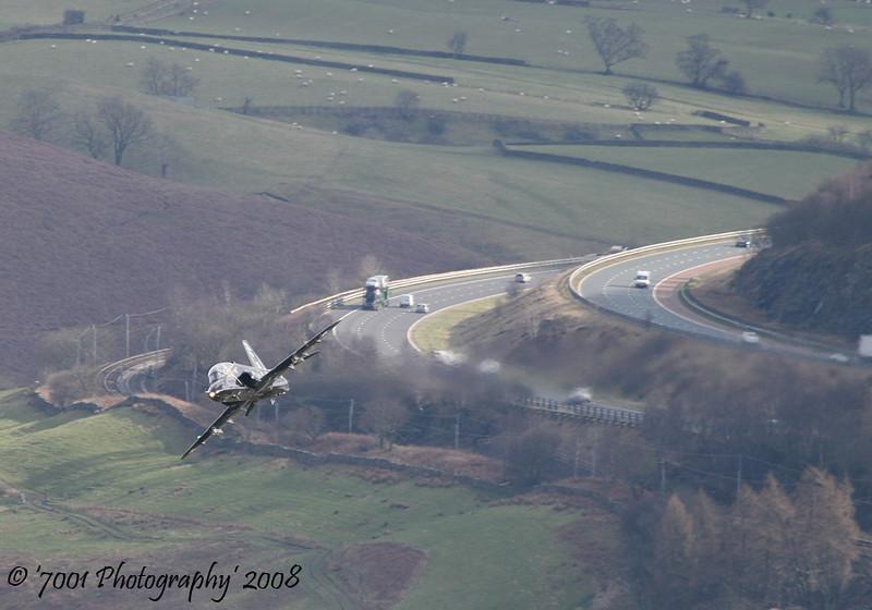 XX265/'265' 'CK' (100 SQN, JFACTSU marks) Hawk T.1 - 19th March 2008.