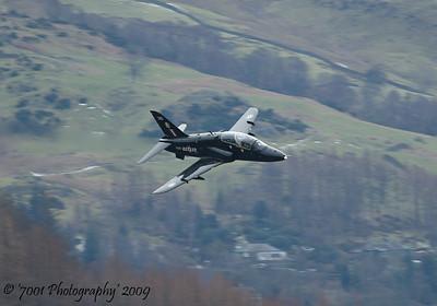 XX265/'265' (19(R) SQN marks) Hawk T.1 - 13th February 2009.