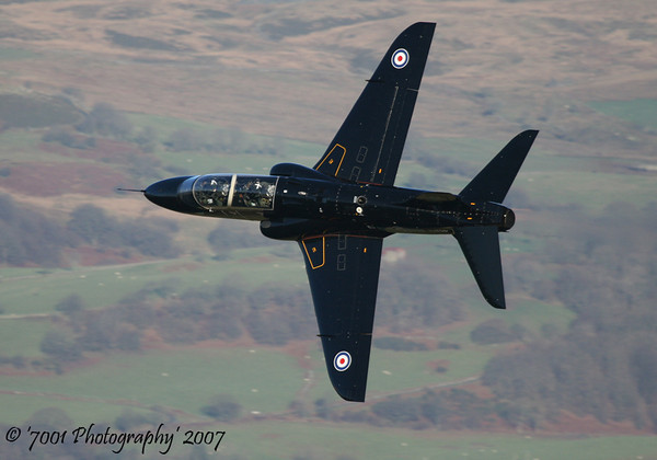 XX156/'156' (208(R) SQN marks) Hawk T.1 - 13th December 2007.