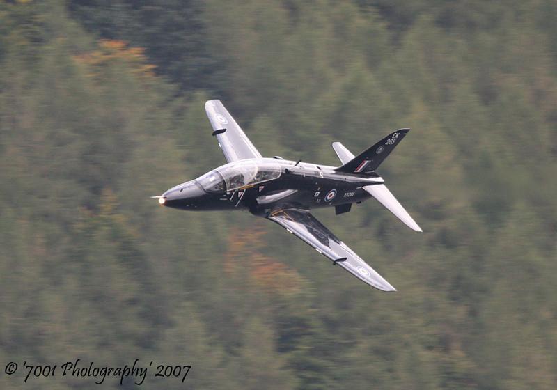 XX265/'265' 'CK' (100 SQN, JFACTSU marks) Hawk T.1 - 28th September 2007.