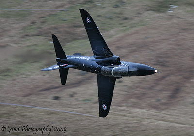 XX189/'189' (19(R) SQN marks) Hawk T.1 - 11th February 2009.