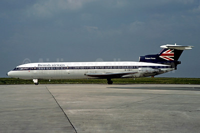 British Airways Hawker Siddeley HS.121-3B-101 Trident 3B G-AWZI (msn 2310) (BEA colors) CDG (Christian Volpati). Image: 905173.