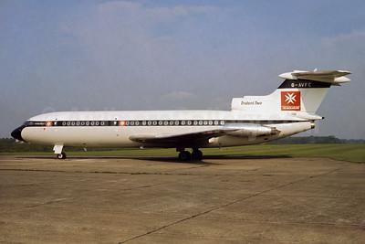 Malta Airlines (The) (BEA) Hawker Siddeley HS. 121-2E Trident 2 G-AVFC (msn 2142) (BEA colors) HTF (Richard Vandervord). Image: 901597.